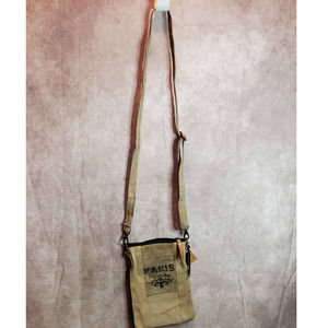 PARIS FLEA RECYCLED MILITARY TENT CRSBDY